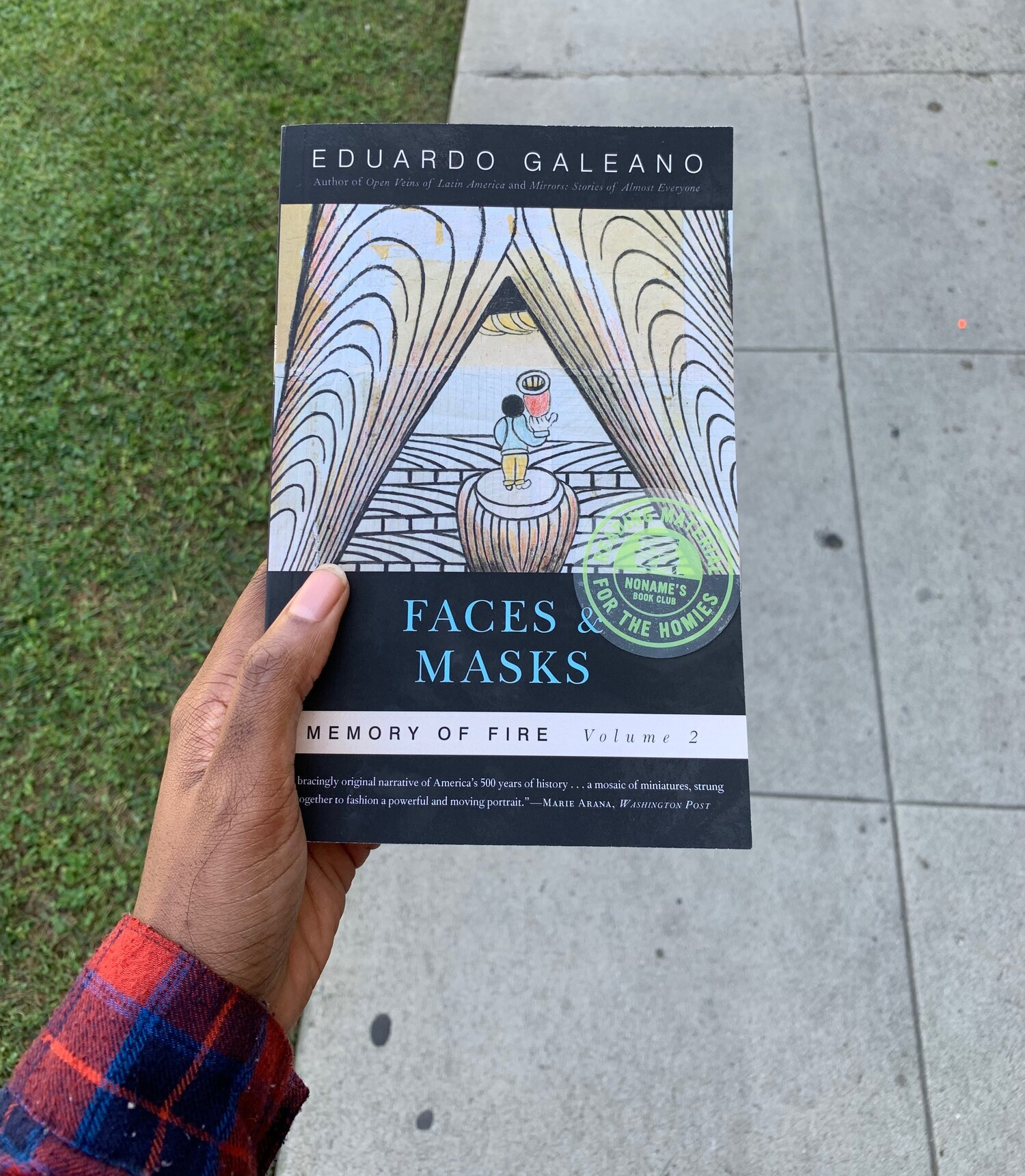 Faces and Masks: Volume 2-Eduardo galeano -