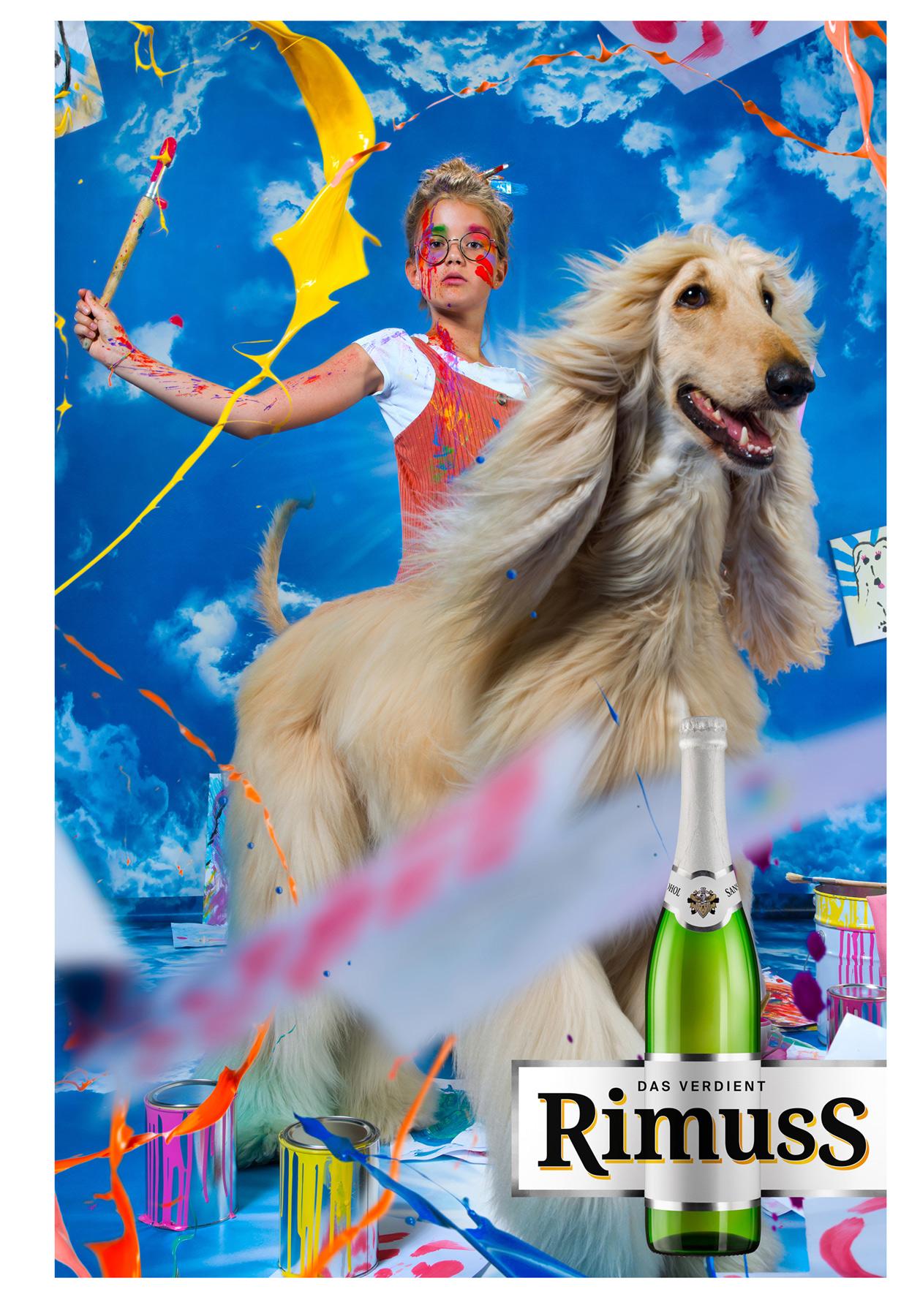 Rimuss Kid's Champagne Campaign, 2018