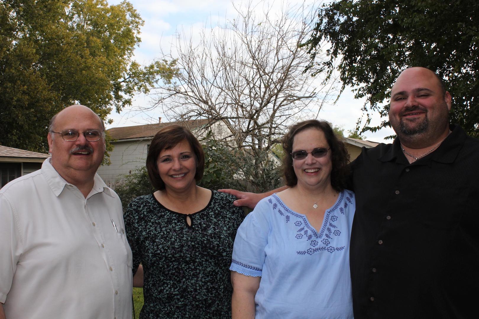 Macario, Marian, Melinda, and Big Mike