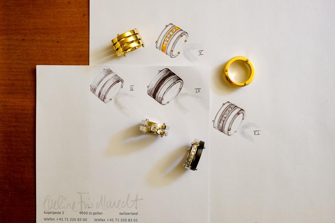 Anfertigungen von Ringe