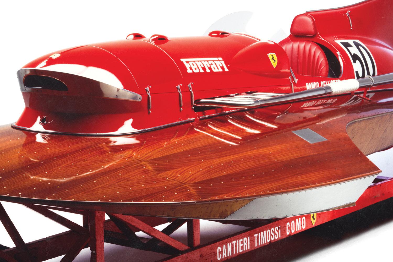 Arno Xi Ferrari Boat
