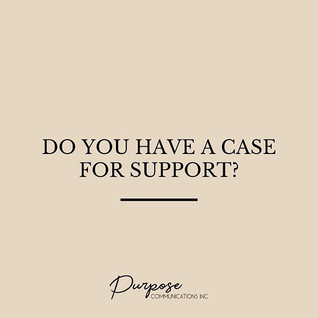 WHY DO YOU NEED A CASE FOR SUPPORT?// Does your social impact organization have a case for support? This document acts as your organization's North Star, outlining your direction and your underlying why behind your work.⠀ ⠀ It should include:⠀ + The urgent, evidence-based need for your work⠀ + Your unique ability to meet that need⠀ + Your plan to deliver a solution⠀ + The cost of your solution⠀ + Your goals, outcomes, and result⠀ + A story of a beneficiary who has been impacted by your work⠀ ⠀ Once you have a strategic case for support, fundraising becomes so. much. easier. Think of this document as the framing of your organization's house: it streamlines the grant application process, can help to attract corporate sponsorship, and makes it easier to onboard new staff.⠀ ⠀ Interested in overhauling your existing case for support or need to create one from scratch? Get in touch by email or DM. I'd love to connect with you.⠀ .⠀ .⠀ .⠀ #funding #grantwriter #socialimpact #nonprofit #MentalHealth #MentalHealthMatters #MentalHealthAwareness #MentalHealthRecovery #MentalWellness #createcommunity⠀ #schoolfundraiser #donorwall #artmatters #donorrecognition #socialgood #charitableteambuilding #nonprofitfundraising #artheals #womeninbiz #philanthropy #socialresponsibility #socialentrepreneur #changemakers #employeeengagement #dogood #kidsandphilanthropy #makeadifference #corporateteambuilding #philanthropy⠀
