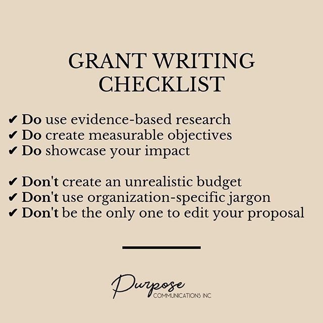 NEW SERVICE ALERT// It's SO important to have others review your grant proposal before submitting it - especially people from outside your organization.⠀ ⠀ You might be neglecting to include key performance indicators, risk assessment, and clear goals in your proposal. Maybe your budget doesn't make sense or you have grammatical mistakes that will leave the funder unimpressed. ⠀ ⠀ Best case? It will distract them from the most important part of your proposal - your impact. Worst case? They'll be frustrated and toss your hard work aside. ⠀ ⠀ In my new Grant Proposal Review package, I'll review, edit, and make suggestions to strengthen your proposal with:⠀ ⠀ + The concise professional writing style appropriate for grant proposals⠀ + Evidence-based research ⠀ + Measurable objectives, outputs, and outcomes (leave it to me to know the difference!) ⠀ ⠀ Because I truly want you all to win the funding you deserve, I'm offering a special price if you book this week as we enter the last quarter of 2019!⠀ ⠀ Want to learn more? Send me an email or a DM. 💭 .⠀ .⠀ .⠀ #fundraiser #fundraising  #charityshop #schoolfundraiser #ngochat #givingtuesday #nptech #philanthropy #philanthropist #501c3status #nonprofittech #nonprofitwork #donors #donation #nonprofitinformation #nonprofitinfo #grantwriter #4change #womensrights #humanrights #youthleadership #makeadifference #remotework #laptoplifestyle #creativeentrepreneur #digitalnomad #girlswhotravel #mycreativebiz #livecreatively #bucketlistbombshells⠀
