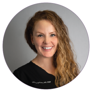 MORGAN O'KANE, MS, CRNP   is a full-time Cosmetic Nurse Practitioner for and possesses extensive experience in both assessing patients' suitability for and performing nonsurgical cosmetic services including Injections and Dermal Fillers, Photofacials, Laser Hair Removal, Microneedling, and CoolSculpting.