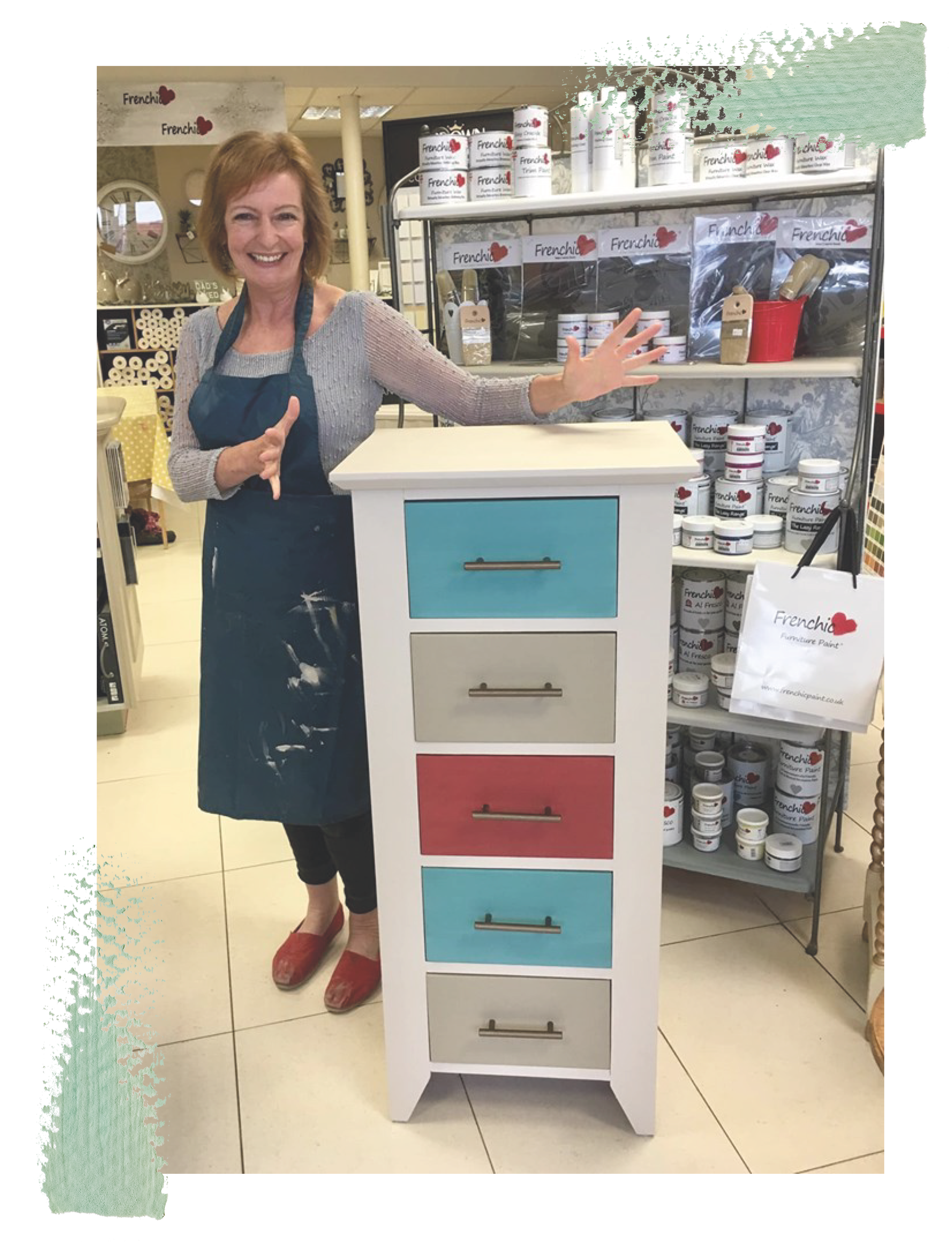 Axeholme Decorating Centre - Frenchic Paint workshops - Learn to paint your own furniture