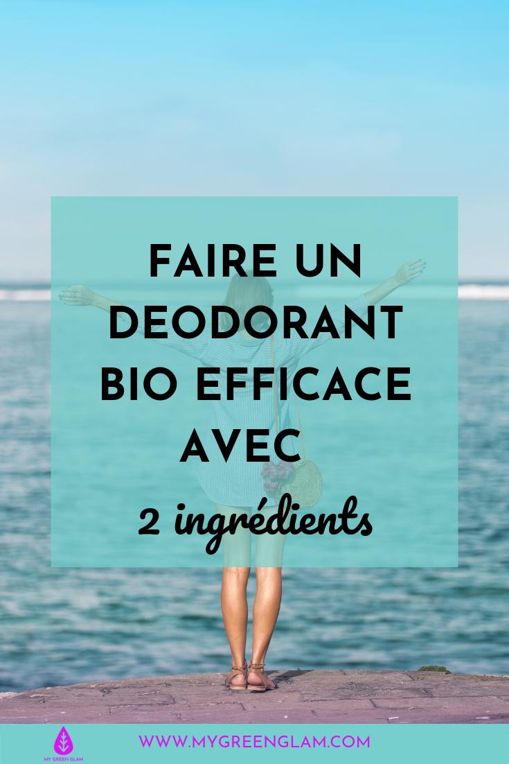 Comment faire votre déodorant bio qui marche vraiment avec seulement deux ingrédients -découvrez également mes produits naturels préférés
