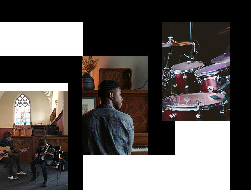 Piano /Guitar /Drums /Violin -