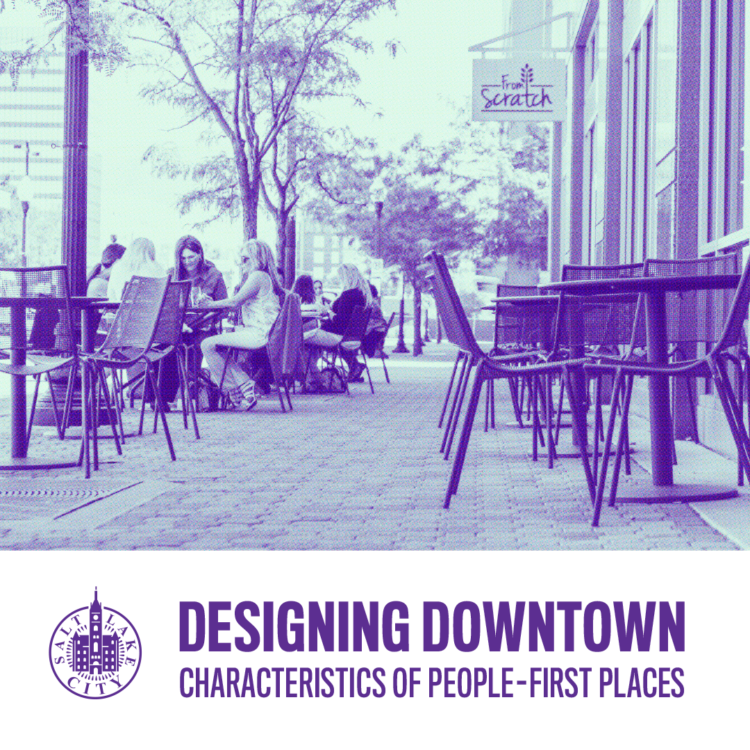 Designing Downtown: Characteristics of People-First Places    12:00 PM