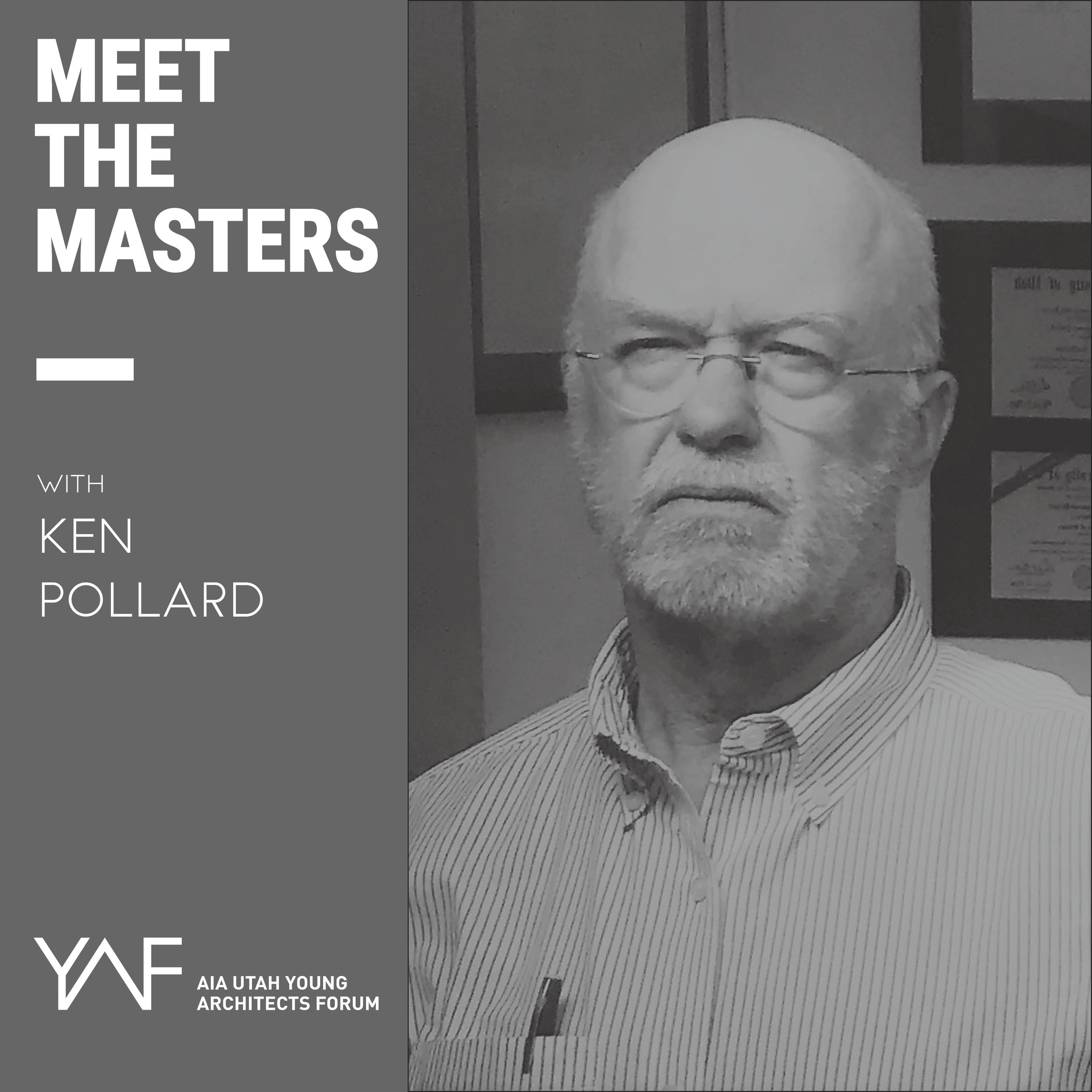 Meet the Masters with Ken Pollard    6:00 PM