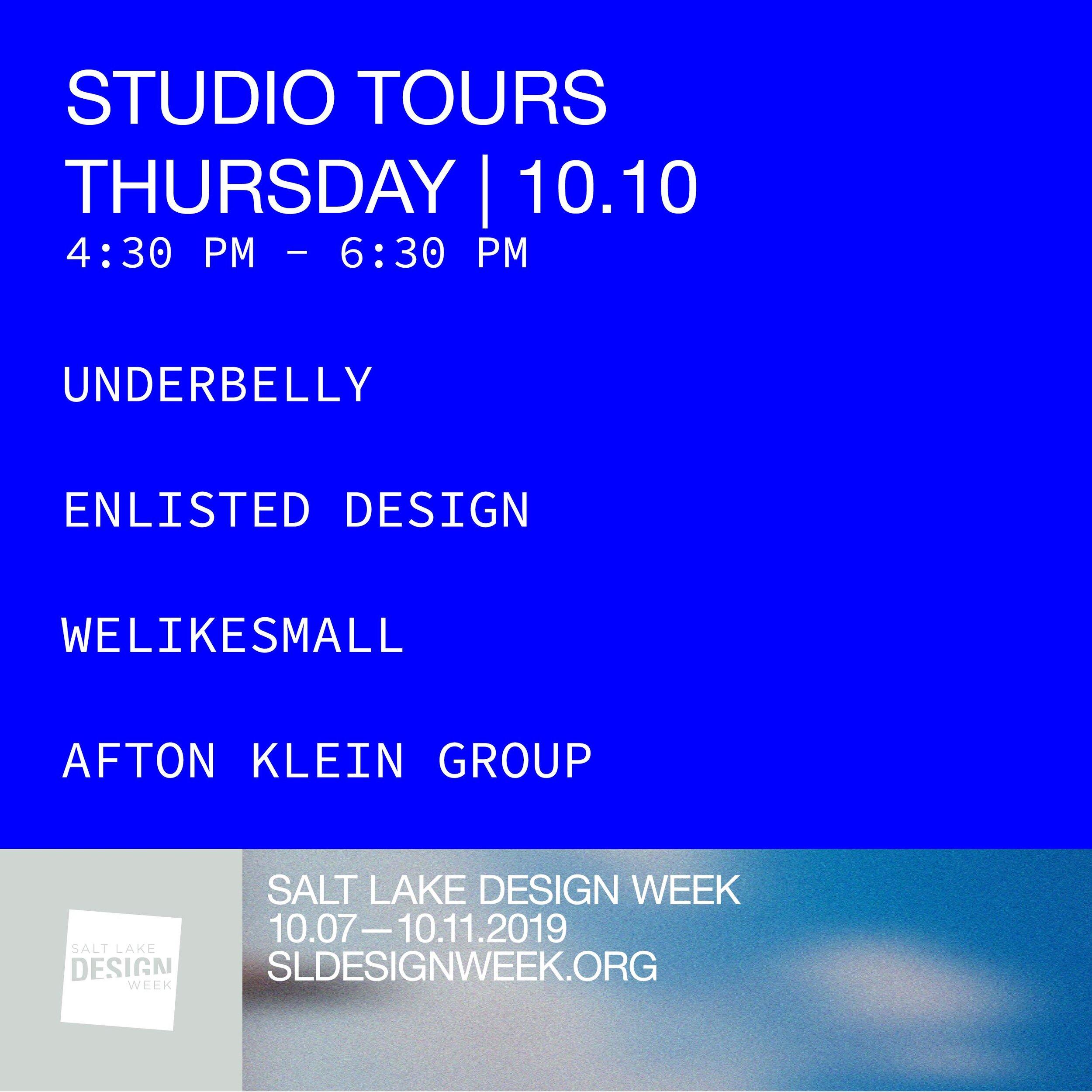 Studio Tours    4:30 PM