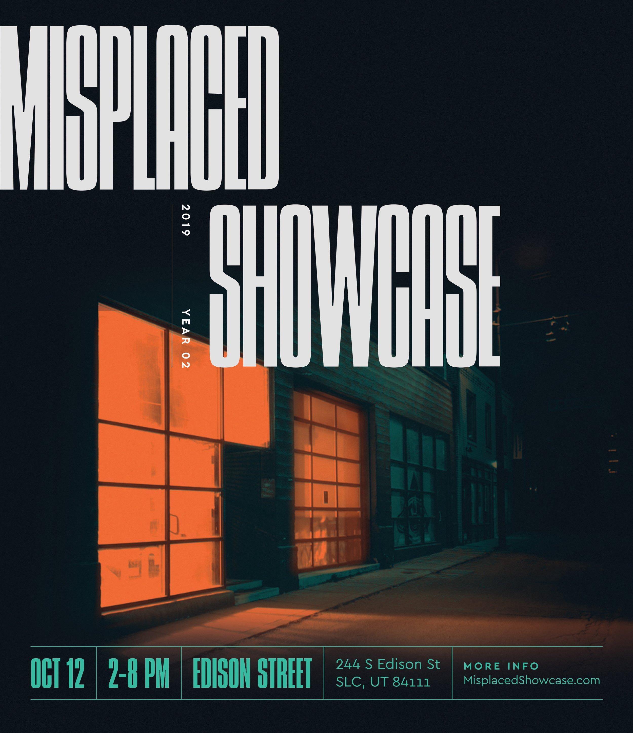 Misplaced Showcase    2:00 PM