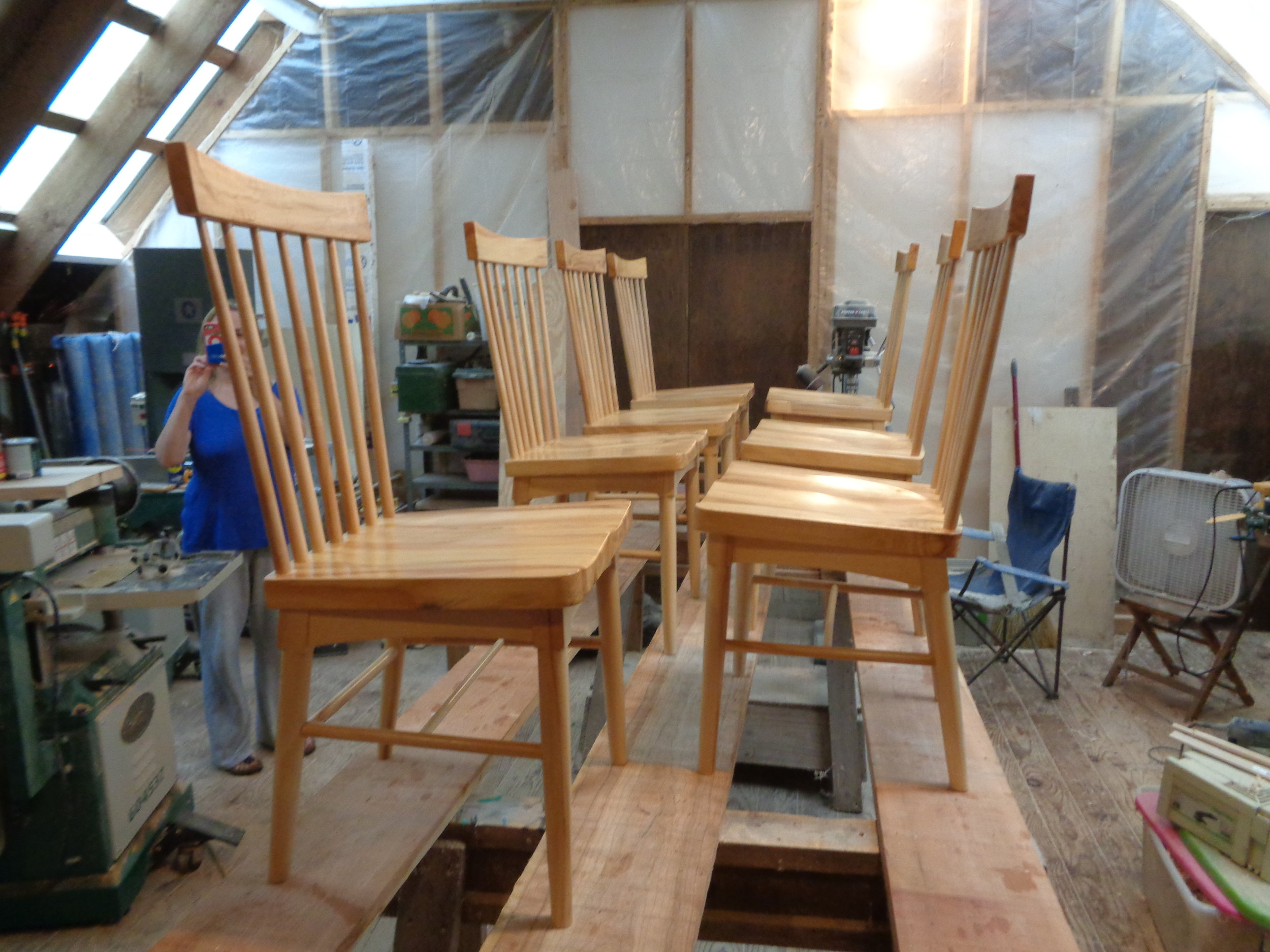 Set of Rustic Chairs