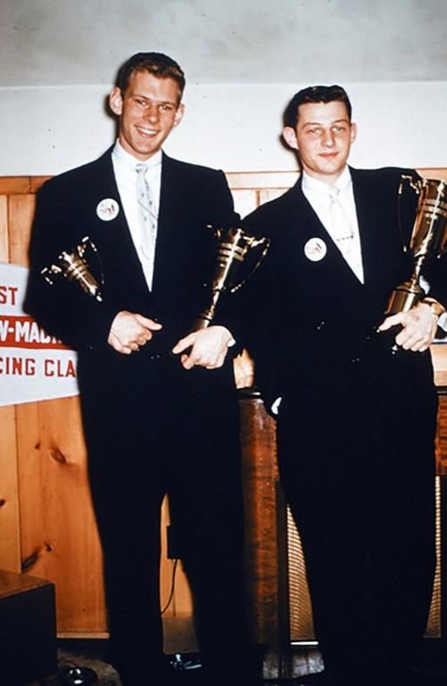 Pete Reichelsdorer & John Bollinger - Circa 1954