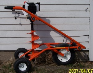 - For sale this 8 inch auger used one year, new price $2300 sell for $1200.