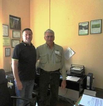 My meeting with Vladan Ivetic, Forestry Professor at the University of Belgrade in Serbia to learn about the Serbian Spruce