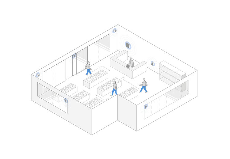 2.    Movement patterns   By tracing the movements and actions of customers, managers can better shape the store layout.