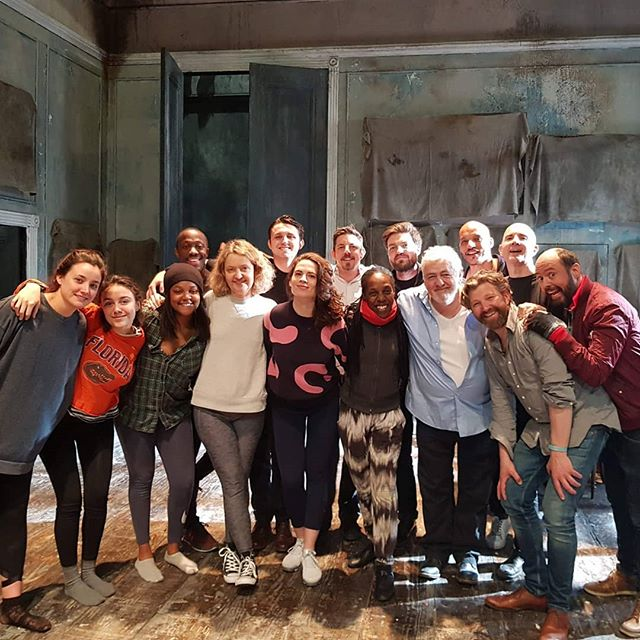 So great to hangout and share some techniques with the cast of Rosmersholm!  If you're in London you have to go see this outstanding play!  #Rosmersholm #london #actor #hmehealing #dissolvetherapy #duranmack #andymack #westend #hme #theatre