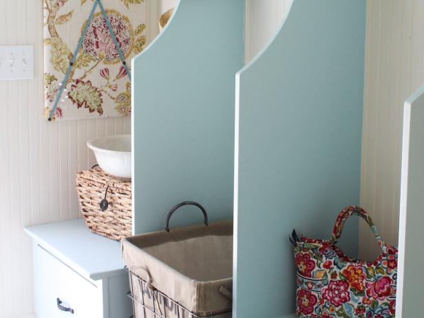 Create a Cheerful Laundry Room