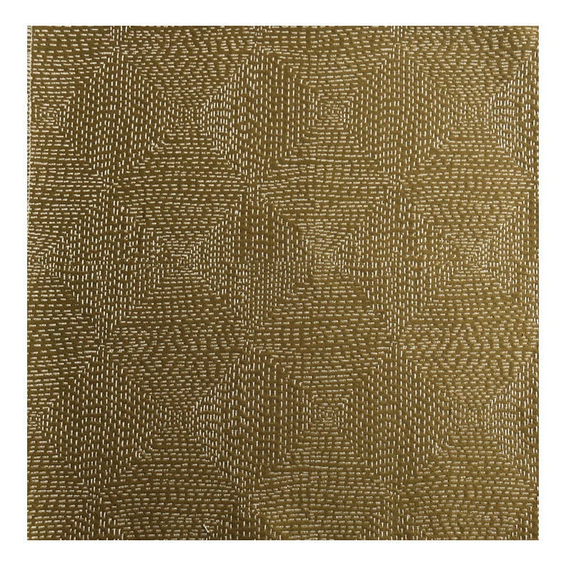 KANTHA STITCH IN OCHRE -