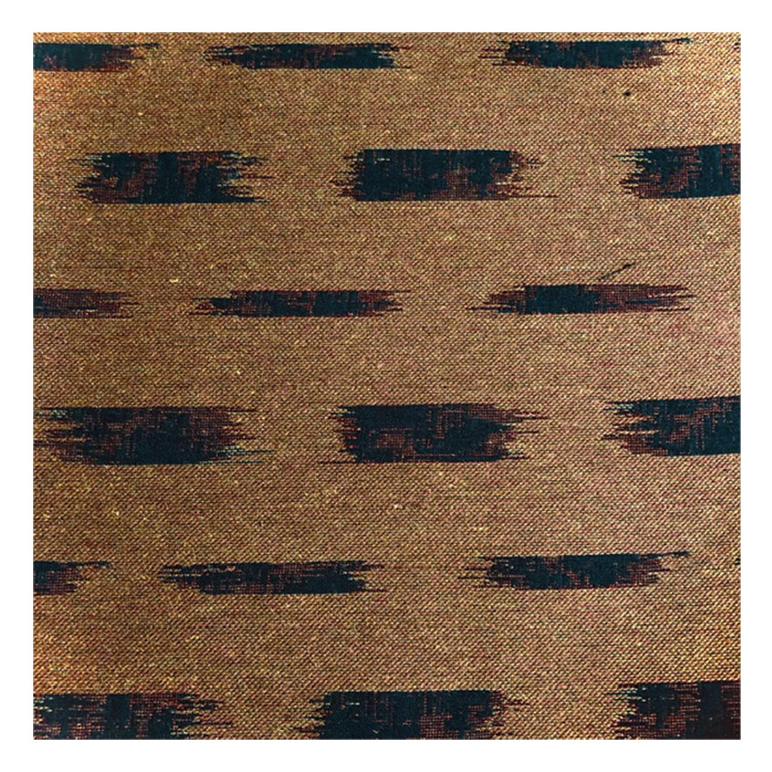 IKAT BLOCK BADA IN MAHOGANY -