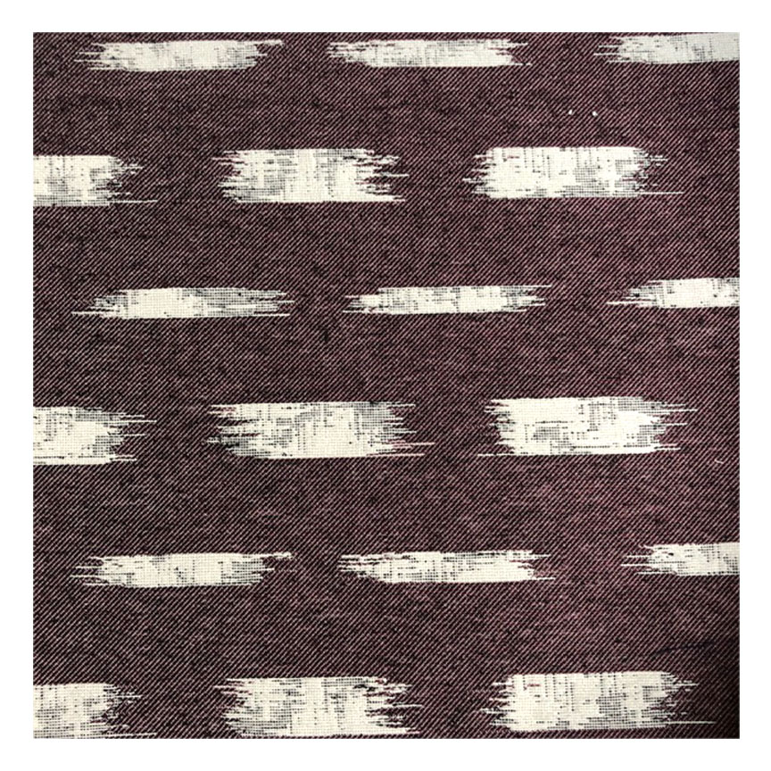 IKAT BLOCK BADA IN MAROON -