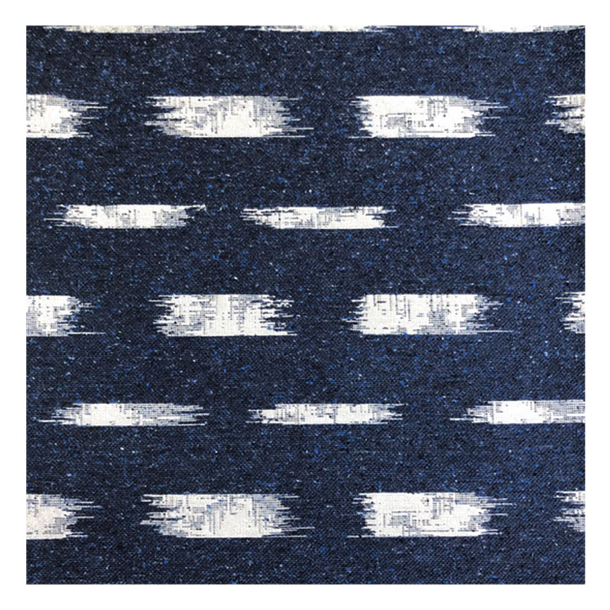 IKAT BLOCK BADA IN DENIM -