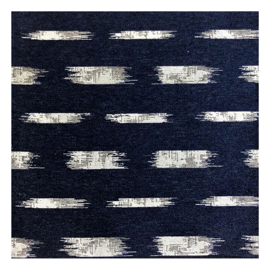 IKAT BLOCK BADA IN MIDNIGHT -