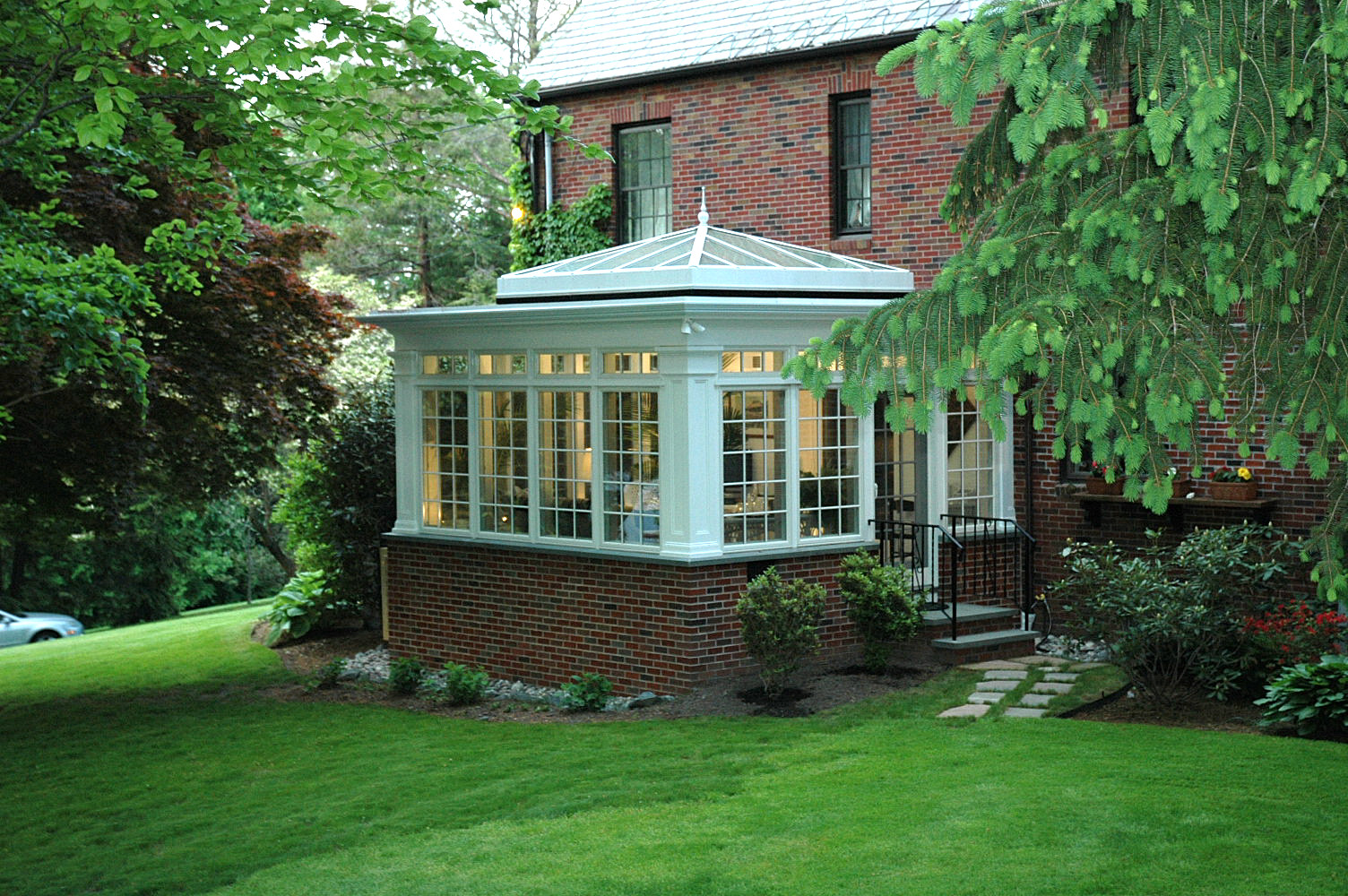 glass top conservatory