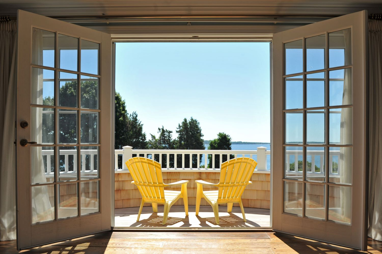 custom built balcony