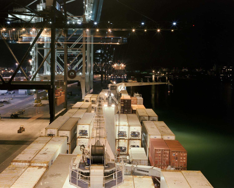Unloading, Port of Miami