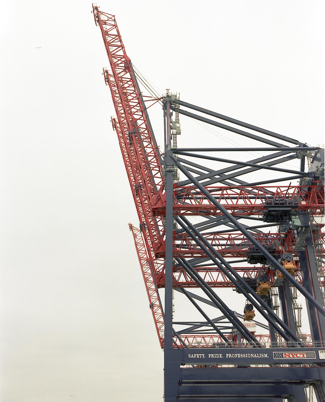 Post-Panamax Cranes, NYC