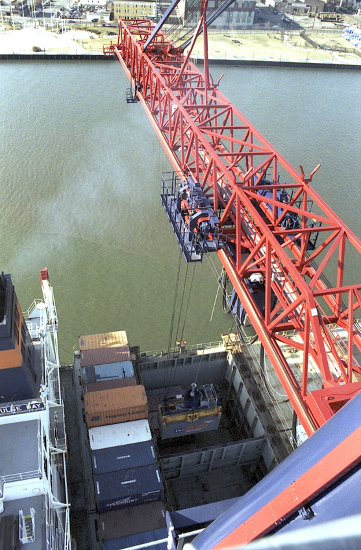 Crane, Cargo, NY