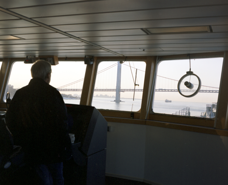 NY Waterways, Bridge, MV Charles Island