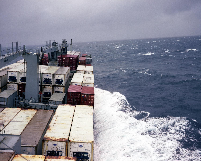M.V. Charles Island Crossing the Gulf Stream