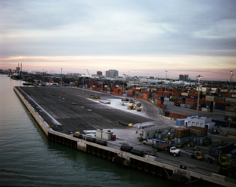 Port of Miami, Dusk