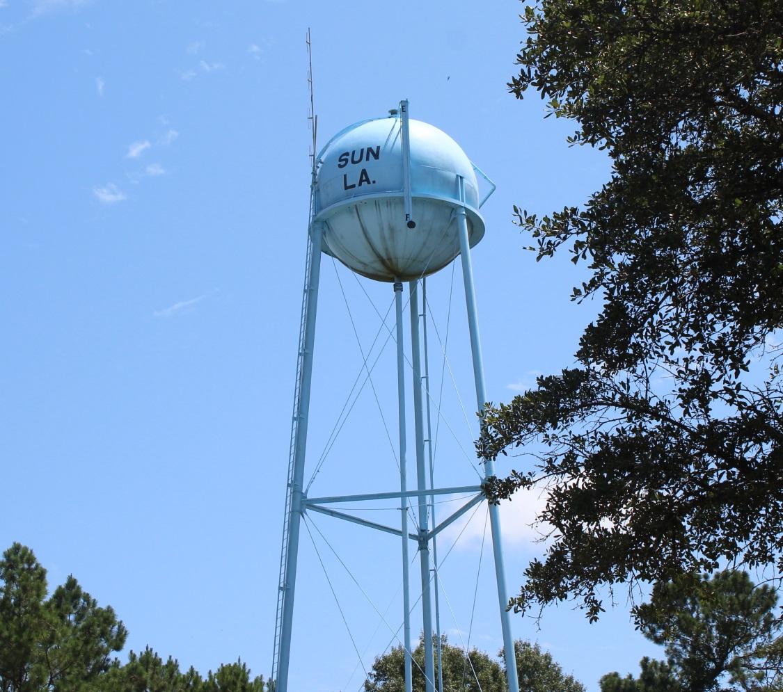 The Sun Watertower
