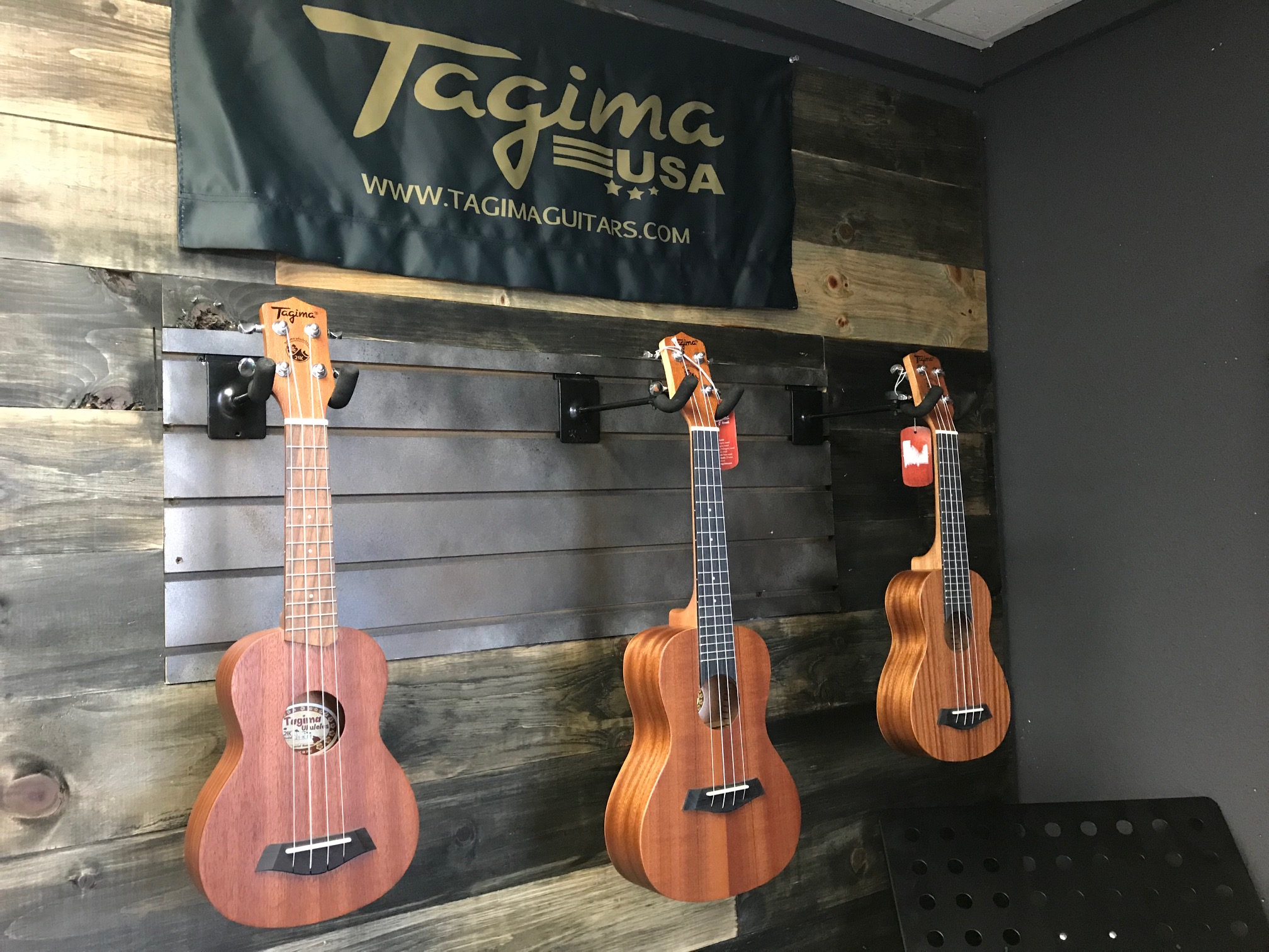 Some of our Beautiful Ukuleles by Tagima