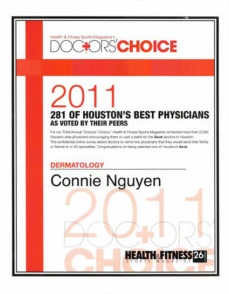 2011 Doctors' Choice Best Physician