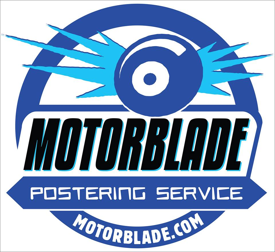 Motorblade Postering Service