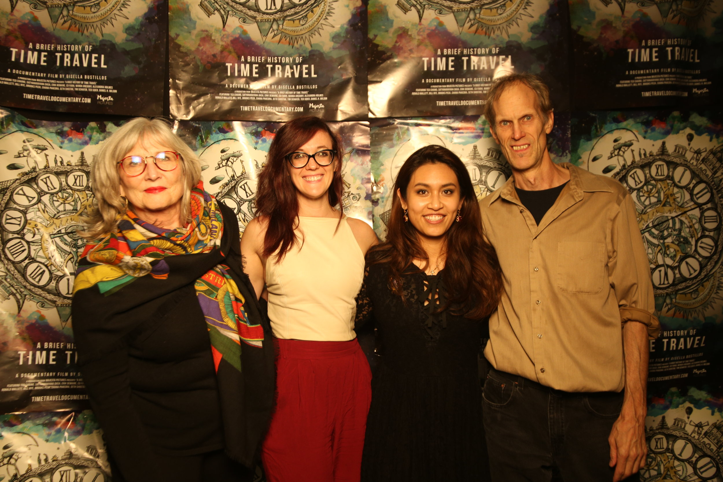 Seattle Premiere! Cast and Crew of A Brief History of Time Travel