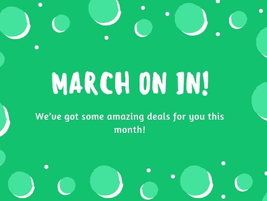 March on in this month and put a spring in your step. Add a 30 minute feet treat to any session for just $30!  #elevatemindbodypeace #elevate #massage #marchspecials #reiki #cupping #spa #explorelawrence #unmistakablylawrence