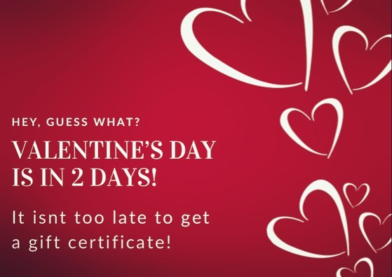 Are you a last minute shopper? Or, not sure what to get your significant other? Gift certificates are a great option and it's never to late to get one! Buy online or stop in this week!  #elevatemindbodypeace #valentinesday #shoplocal #giftofselflove #massage #couplesmassage #giftcertificates