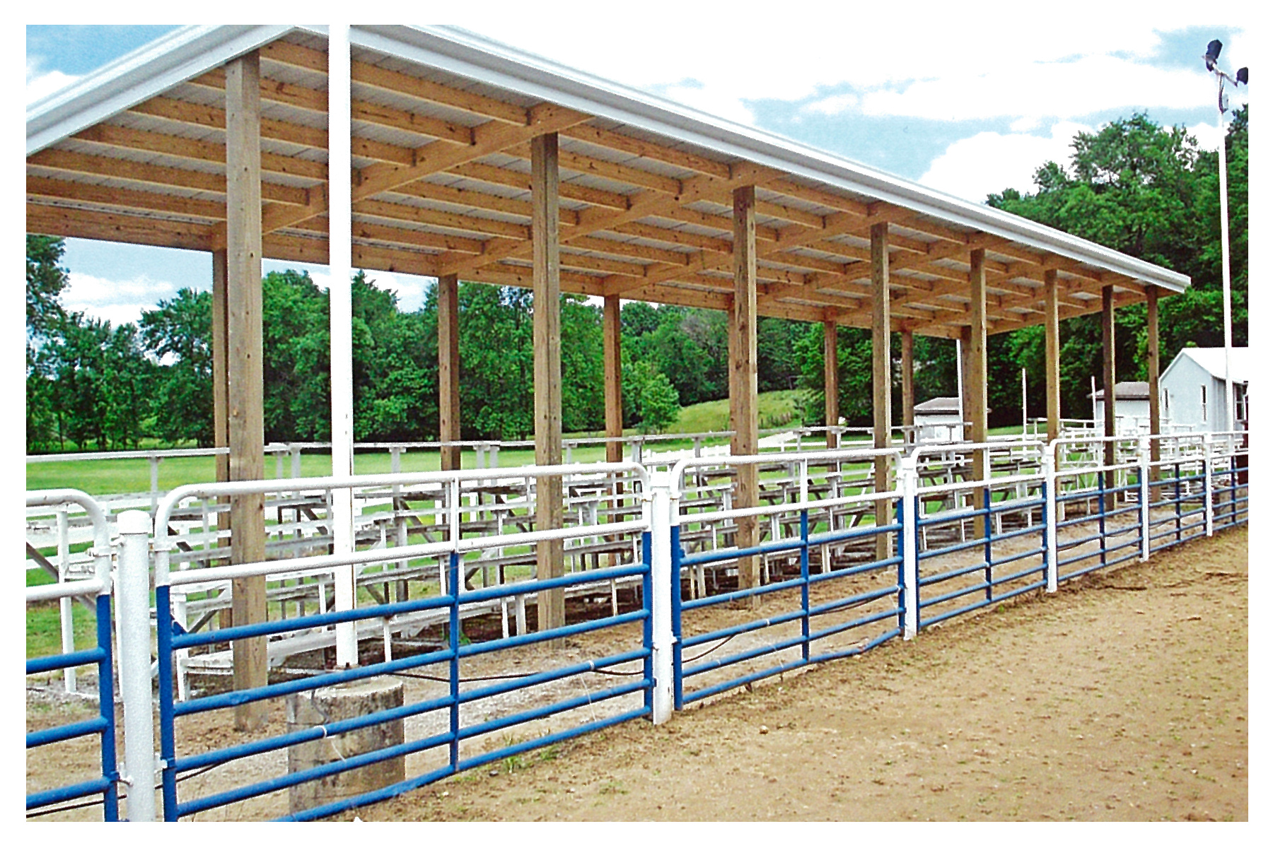 IL Boots and Saddle Club Facility Improvement 2016 - New Bleacher Cover May 2015.png