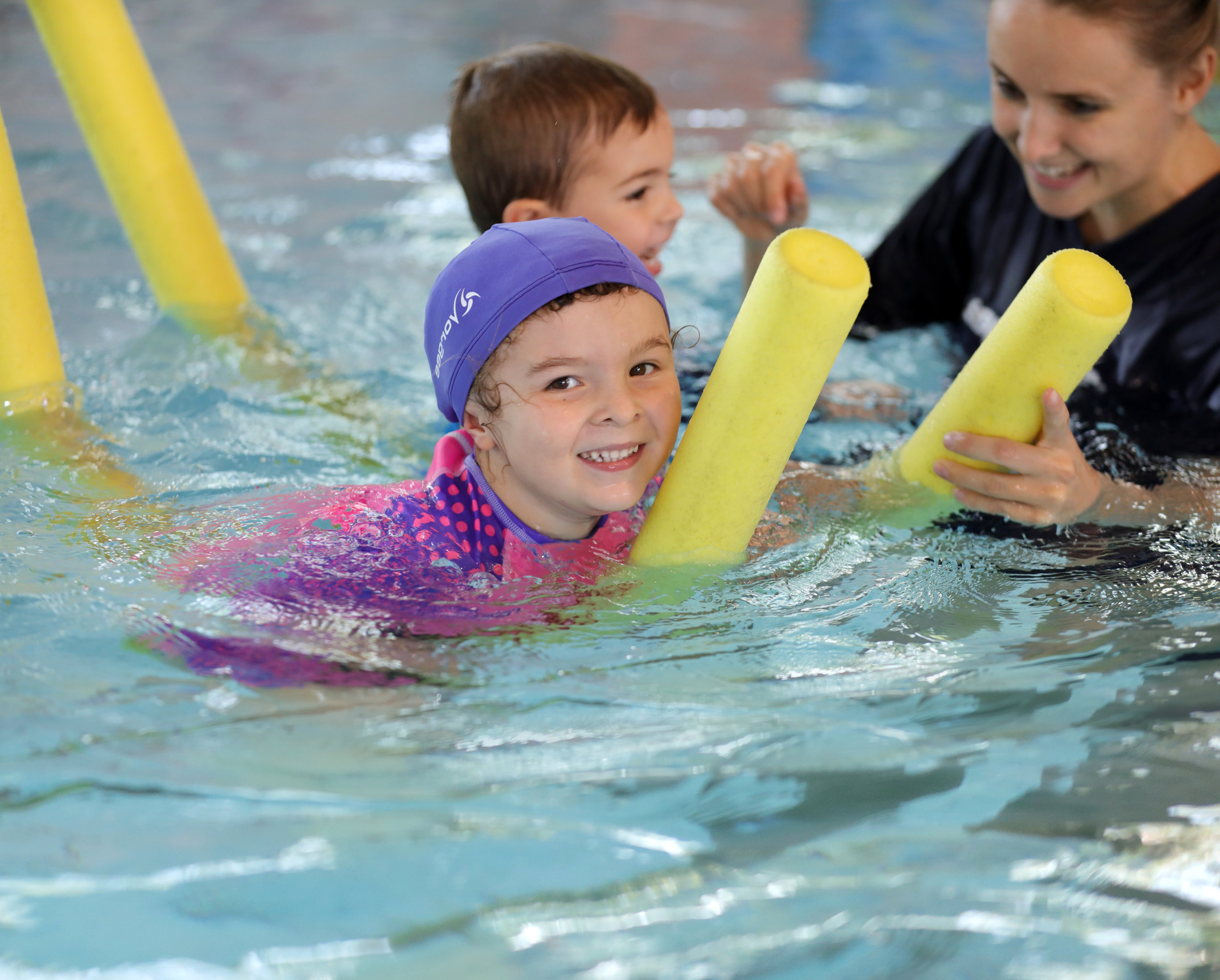 Learn to Swim - Our Learn to Swim Program offers a fun pathway for children of various ages. We teach survival skills as well as technique, giving all swimmers the opportunity to be able to compete or swim recreationally.