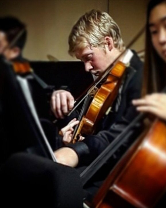 Pierre Petitjean, Violin; YO Concertmaster 2019-2020