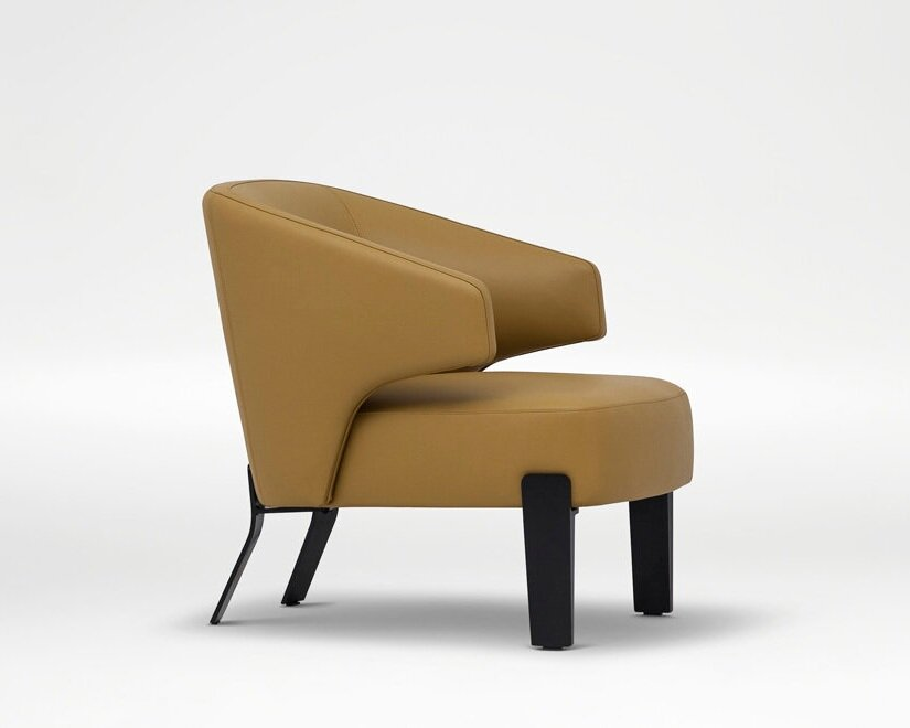 Embrace Chair - Decidedly modern with retro roots.
