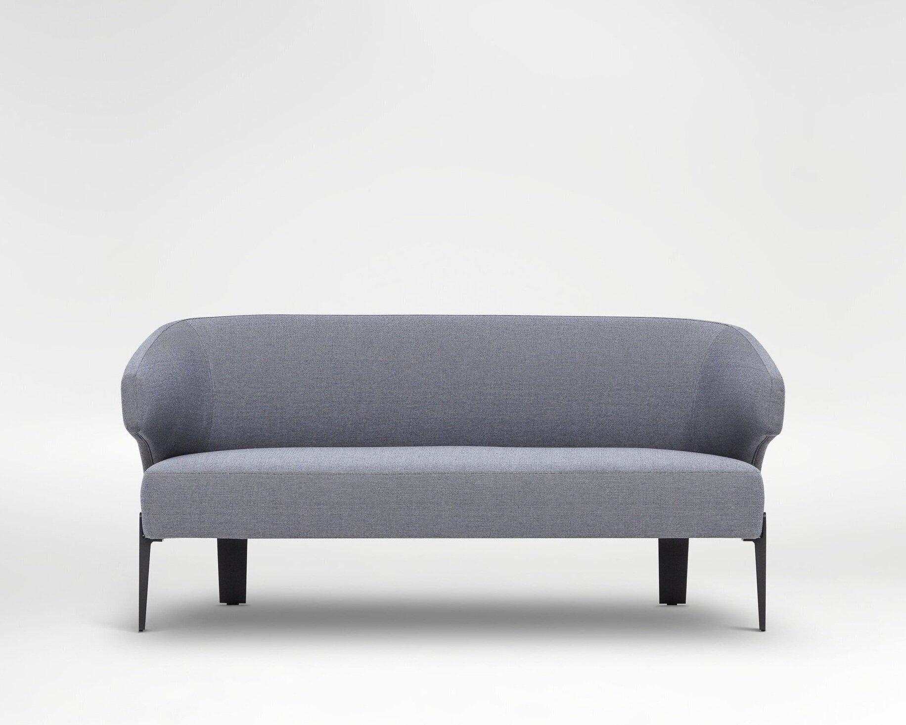 Embrace loveseat - Decidedly modern with retro roots. The perfect compact seating solution for small spaces.