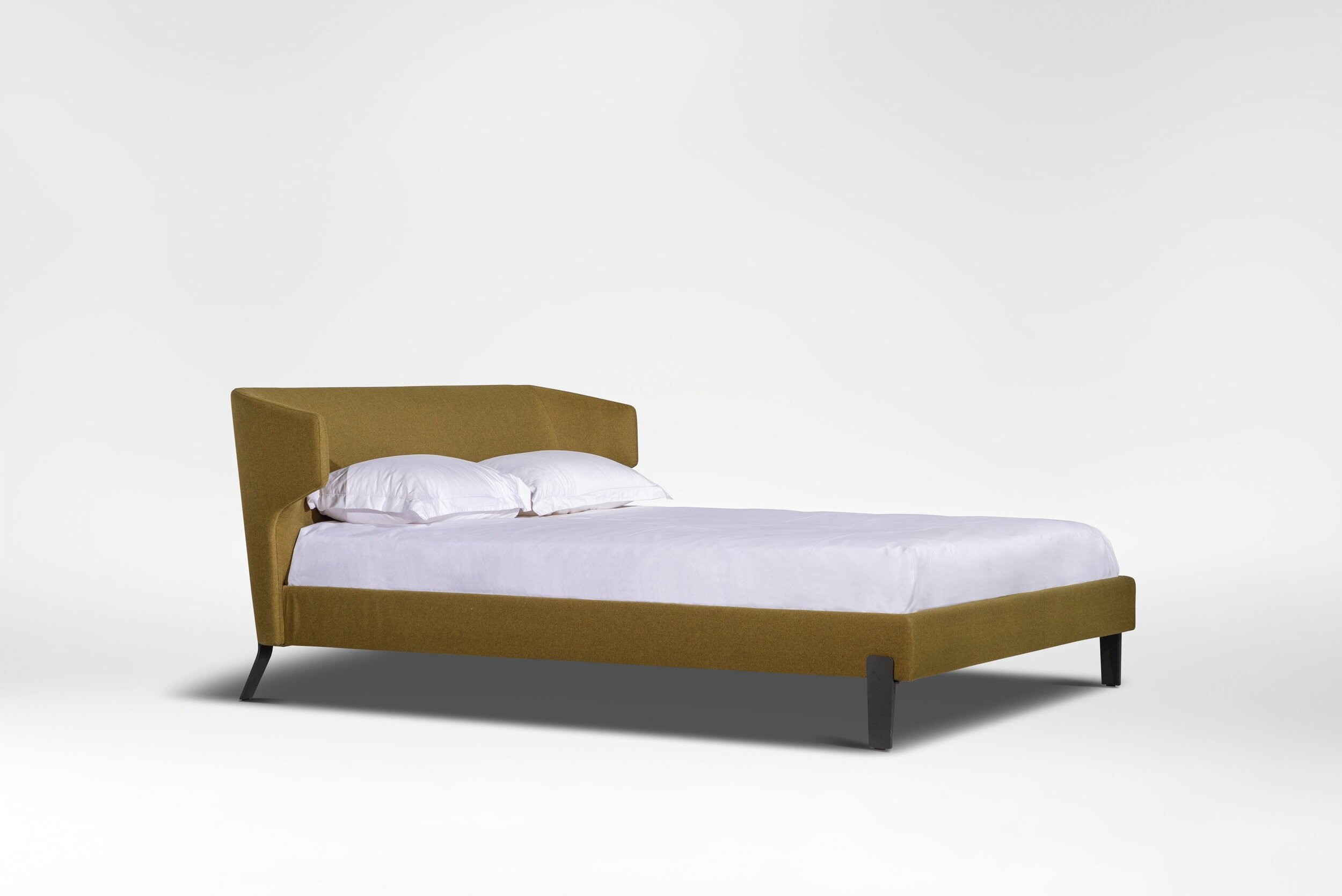 embrace bed - Decidedly modern with retro roots.