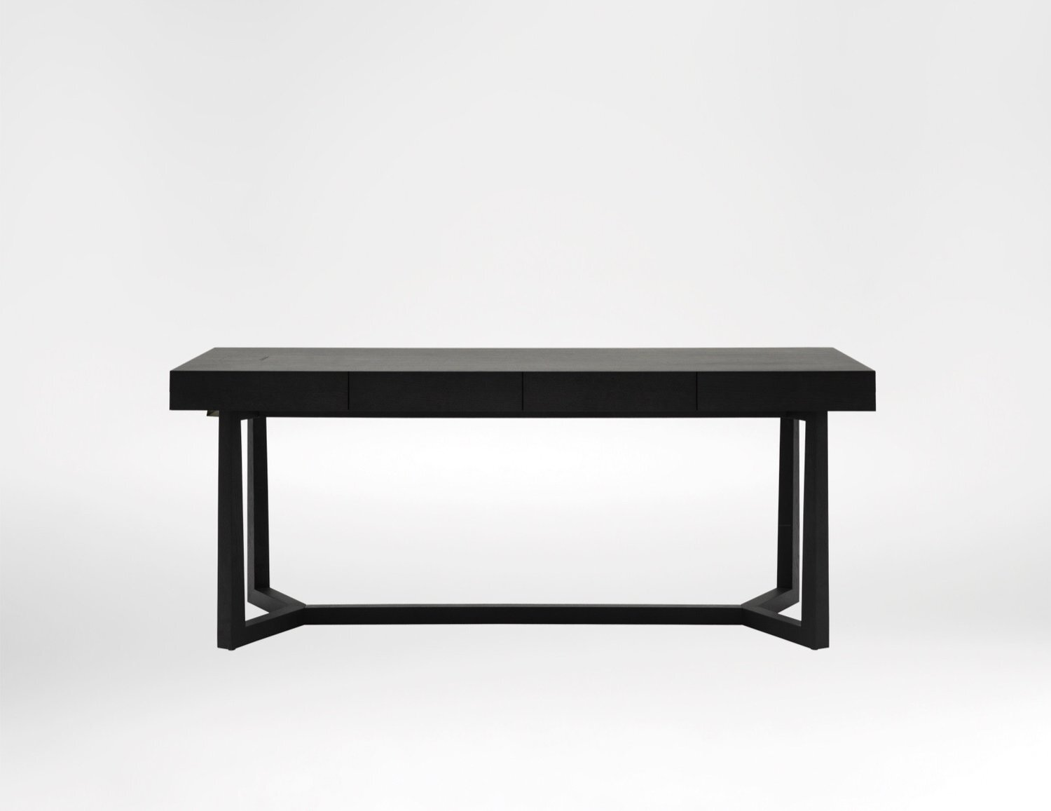Vessel Desk - The Vessel Desk is a refined, casual office desk for any workspace.