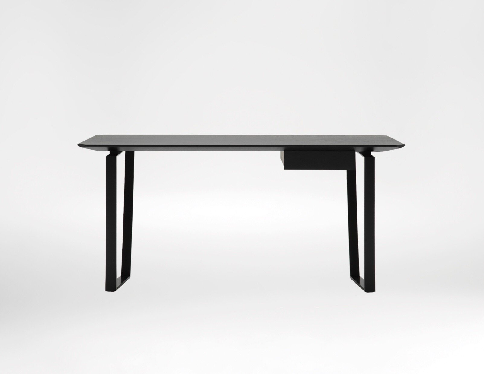 Verge Desk - Spectacularly sleek look with distinguished character.
